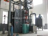 Venta caliente de tipo gancho de alta eficiencia de máquina de granallado