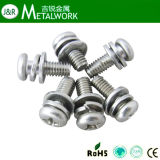 Acier inoxydable Hex / Pan / Socket Head Assembly / Assemled Screw with Captive Washers