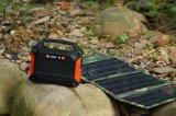 Batería de litio ligera generador de energía solar el Sistema de Iluminación Solar de 100W