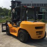 Chariot Elevateur Diesel 7 Tonnen-Gabelstapler mit seitlichem Schieber