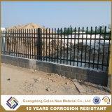 装飾用の住宅の錬鉄の塀の芝生および庭の塀