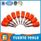 4 flautas o raio do canto final Mill para processamento de metais