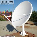 Antenne de Ku 1.8m Rx-Tx Vsat (compenser)
