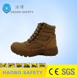 Желтый из натуральной кожи военных армии пустыни обувь