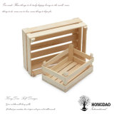 Rectángulo de madera colorido del plantador de Hongdao, almacenaje Box_D