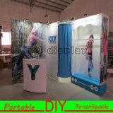 Las exhibiciones portátiles y displays con cambio de habitación personalizados