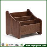 Коробка хранения твердой древесины канцелярских принадлежностей высокого качества