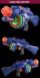 20 PCS Soft Bullet 20 PCS Suction Cup Bullet Shooting Pistol Toyの2207051-Semi-Automatic Soft Gun