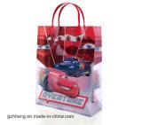 Kundenspezifischer Karikaturdruckenfördernder Plastikgeschenkbeutel (PVC-Beutel)