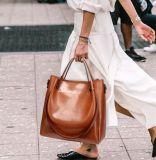 Het nieuwste Modieuze Grote Leer van Pu Dame Handbags