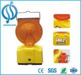 Indicatore luminoso d'avvertimento di colore di traffico ambrato e giallo di sicurezza all'interno della batteria di 6V 4r25