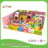 De populaire Goedkope BinnenApparatuur van de Speelplaats met de Bijlage van het Net van de Veiligheid voor het Spel van Jonge geitjes