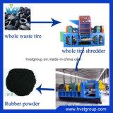 De hoge RubberMaalmachine van de Lijn van het Recycling van de Band van de Snijder van de Band van de Output Lijn Verspilde