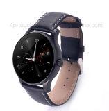 Bluetooth pantalla redonda Reloj de dama con Monitor de Ritmo Cardíaco K88h