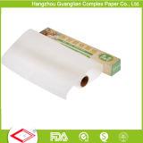 Pergamino de silicona en rollos de papel para hornear Jumbo de la fábrica