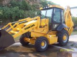 Neues Strong Backhoe Loader mit Timber Grab
