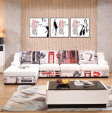 Sofá secional barato da mobília por atacado moderna do mercado