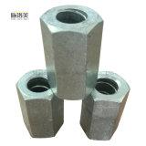 Noix Hex galvanisée de coffrage malléable de fer avec la taille différente
