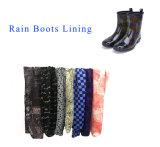 Doublure en tissu Bottes de pluie pour les enfants, Lady, Les Hommes Chaussures de décisions