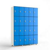 Quatre Tier stratifié compact Salle de Gym Sport Yoga Locker