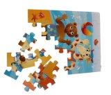 Puzzle stampato di puzzle di Cmyk per i bambini Guangdong