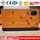 Generatore silenzioso elettrico di potenza di motore diesel 100kVA Cummins del generatore
