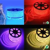 Водонепроницаемый смены цветов RGB со светодиодной полосы света/светодиодные ленты 60 LED/M 110 В/220 В