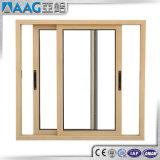 Alluminio/portelli scorrevoli di alluminio e Windows con nero/bianco/bronzo/colore di legno del grano