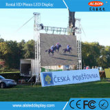 High Waterproof IP65 Outdoor P6 Full Color Rental Écran LED TV