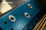 Máquina que pela plateada de metal de la viga hidráulica del oscilación
