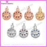 De Halsbanden van de urn om Tegenhangers met Kleurrijke Kristallen voor Mamma Ijd9647