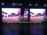 P6mm 실내 풀 컬러 LED 스크린 임대 조정을%s 영상 벽 전시