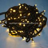 Diodo emissor de luz branco da luz feericamente impermeável da corda do Natal do diodo emissor de luz do diodo emissor de luz