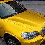 1.52*20m orange Goldselbstklebendes wasserdichtes Luftblase freies Auto-Verpackungs-Vinyl Belüftung-MattChome