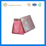 Коробка подарка Skincare золотистой карточки высокого качества Cream косметическая упаковывая бумажная (с внутренним подносом)
