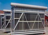 Condensador de permutador de calor de placa de travesseiro