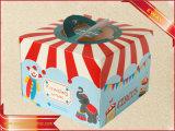 Caja de regalo de promoción de embalaje Caja de papel Kraft Caja de tarta