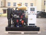 Peso ligero bajo ruido 10kw / 13kVA generador diesel abierto con ATS y 48hours depósito de combustible inferior