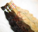 Extensão intata do cabelo humano da cutícula natural de Remy do Virgin