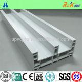 Window/UPVC Profile/UPVC 문과 Windows 프레임을%s 3개의 3개의 궤도 중국 상표 PVC 단면도