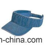 刺繍は日曜日バイザーの帽子を遊ばす