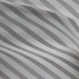Classic rayé de tissu de polyester teint