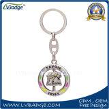 Il metallo gira la catena chiave per il regalo del ricordo