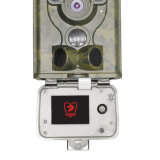 Flash branco 12MP Digital Scout Guard Hunting Trail Camera