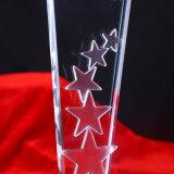 De goedkope Trofee van de Ster van het Glas van het Kristal voor Herinnering