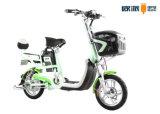 Bicicleta eléctrica elegante delantera de Bascket Digital Speedmeter para el rango largo adulto