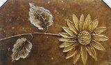 Sonnenblume-verzieren romantische einfacher Entwurfs-Familien-Gaststätte Segeltuch-Farbanstrich