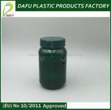 Bouteille de plastique de médecine de l'animal familier 250ml d'empaquetage en plastique