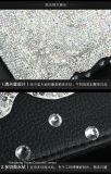 Rectángulo del tejido del coche del diamante de la decoración del ornamento del coche de rectángulo del tejido del asiento de coche del diamante (TBB-024)