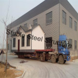 Prefab дом виллы стальной рамки для сбывания